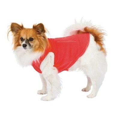 Fashion Pet Dog Polar Fleece Vest, Red, Medium