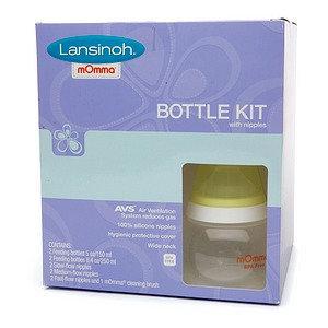 Lansinoh Bottle Kit with Nipples