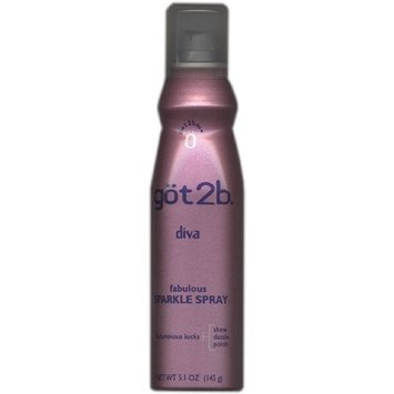 göt2b Got2b Diva, Fabulous Sparkle Spray, 5.1 oz