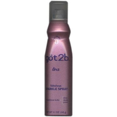 göt2b Diva, Fabulous Sparkle Spray, 5.1 oz