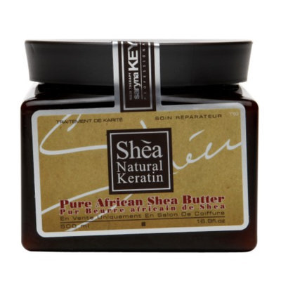 Saryna Key Professional Shea Natural Keratin Pure African Shea Butter, 16.9 fl oz