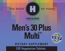 Mens 30 Plus Multi Highland Laboratories 120 VegTab