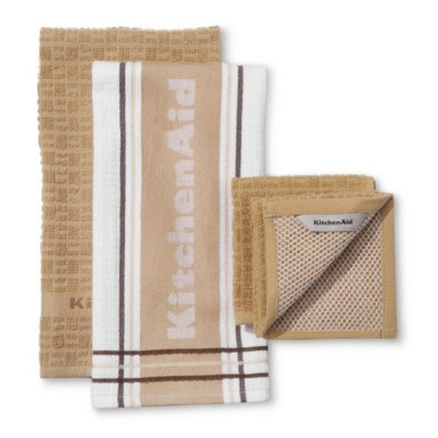 KitchenAid Kitchenaid Towel Set - Tan