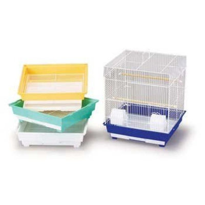 Prevue Parakeet/cocktiel Economy Cage for Birds, Color: Assorted , Size: 16X14X18/4 PACK, Count: 4