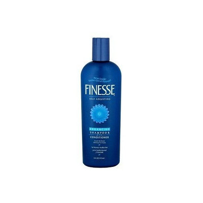 Finesse Self Adjusting, Enhancing Shampoo Plus Conditioner