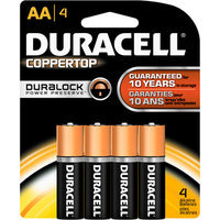 Duracell Coppertop AA Alkaline Batteries