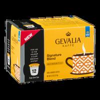 Gevalia Kaffe 100% Arabica Coffee Single Serve Cups Signature Blend - 12 CT