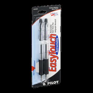Pilot EasyTouch Retractable Ball Point Pen Medium/Black