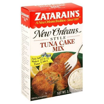Zatarain's New Orleans Style Tuna Cake Mix, 5.75-Ounce Boxes (Pack of 12) ( Value Bulk Multi-pack)