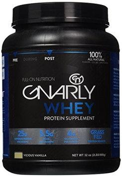 Blue Earth Nutrition Gnarly Nutrition - Whey Protein Grass Fed Vicious Vanilla - 32 oz.