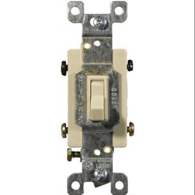 Morris Toggle Switch Ivory 4 Way 15A-120/277V