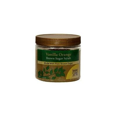 Sunshine Spa Sunhine Spa 57735 Vanilla Orange Brown Sugar Scrub