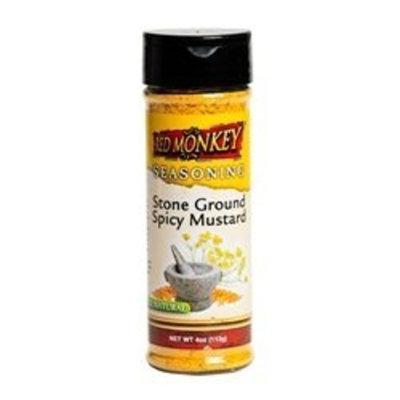 Red Monkey Foods Stone Ground Spicy Mustard Seasoning