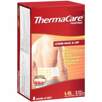 ThermaCare Lower Back & Hip Heat Wrap