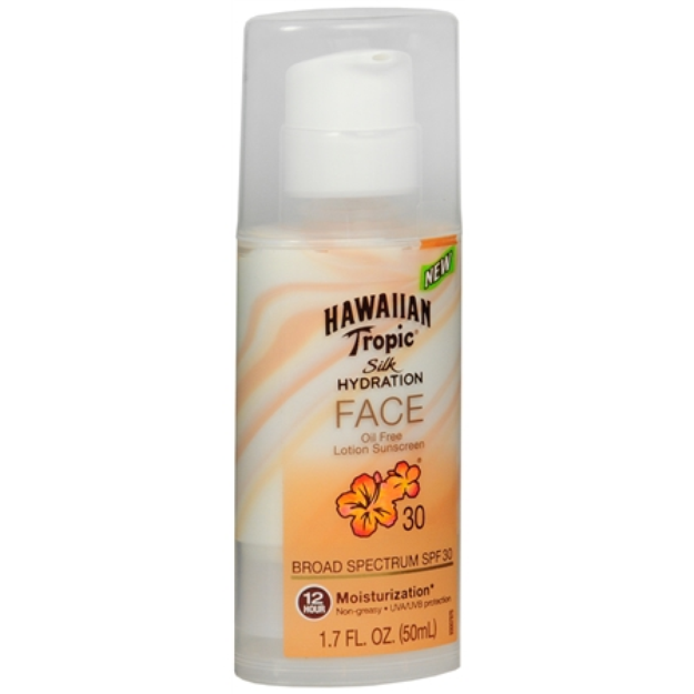 Hawaiian Tropic Silk Hydration Sunscreen Face Lotion with SPF 30 - 1.