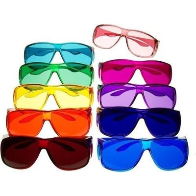 Biowaves Color Therapy Glasses Large Fit Over Style Sets