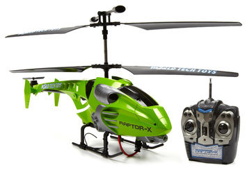 World Tech Toys Gyro Raptor-X 3.5ch RC Helicopter