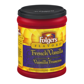 Folger's Flavors Ground Coffee French Vanilla