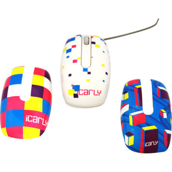 Sakar iCarly USB Mouse with Faceplates