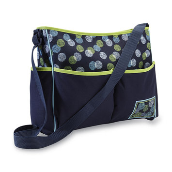 Cudlie Metro Hobo Diaper Bag & Changing Pad - Dots