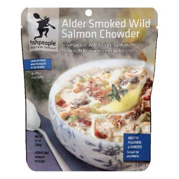 Fishpeople CHWDR, ALDER SMKD SALMON, (Pack of 12)