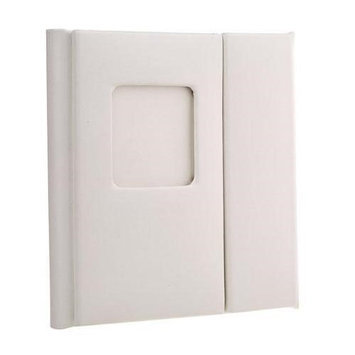 Flashpoint Overlapping CD Holder, Holds 1 CD, with Cover Window, Color: Ivory.