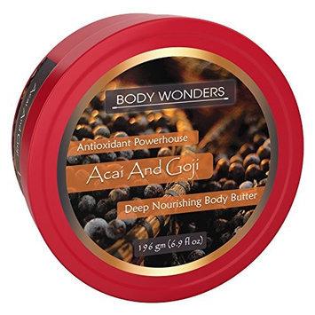 Body Wonders Acai And Goji Body Butter 6.9 oz