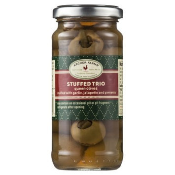 Archer Farms Stuffed Trio Olives 4.75 oz