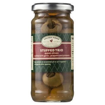 Archer Farms Stuffed Trio Olives 4.75 oz