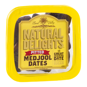 Bard Valley Natural Delights Medjool Dates Pitted