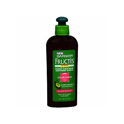 Garnier Fructis Haircare Instant Color Sealer Lightweight Leave-In