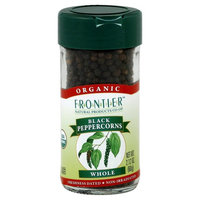 Black Peppercorns Whole Organic - 2 oz,(Frontier)