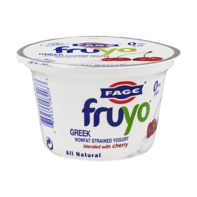 Fage Fruyo Greek Nonfat Strained Yogurt Cherry