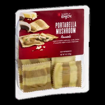 Simply Enjoy Portabella Mushroom Ravioli