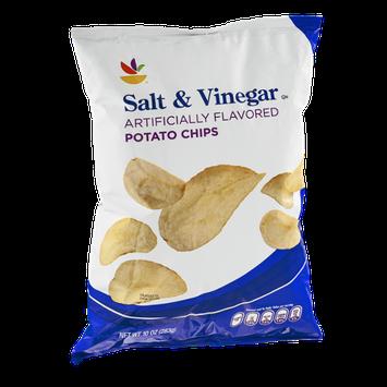 Ahold Potato Chips Salt & Vinegar