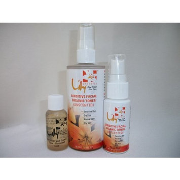 Facial Toner Calming unscented for Sensitive Skin By Lily Organics