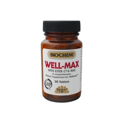 Country Life Well-Max with NAC, Tablets, 30-Count