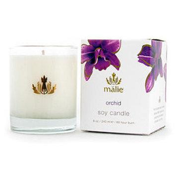 Malie Organics Soy Candle, Orchid, 8 oz