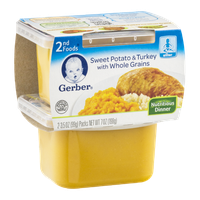 Gerber 2nd Foods Sweet Potato & Turkey with Whole Grains