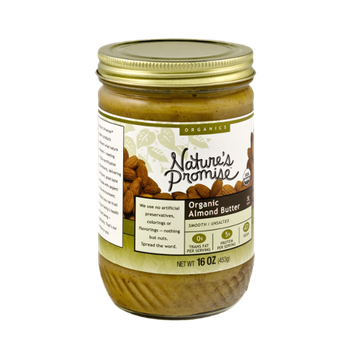 Nature's Promise Organics Smooth Almond Butter Unsalted