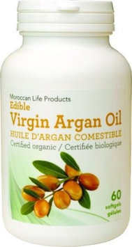 Edible Argan Moroccan Life Products 60 Softgel