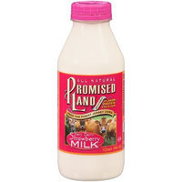 Promised Land Very Berry Strawberry Milk, 32 fl oz