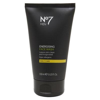Boots No7 Men Energising Face Wash