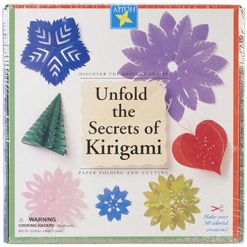Aitoh Unfold the Secrets of Kirigami Kit kirigami kit
