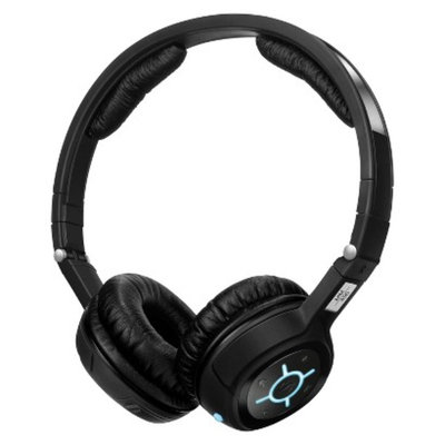 Sennheiser On-the-Ear Wireless Travel Headphones - Black (MM450X)