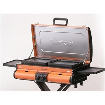 Iwatani IW-BBQ-OR G-Station Portable Butane Grill Orange