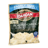 Idahoan Mashed Potatoes Roasted Garlic Family Size