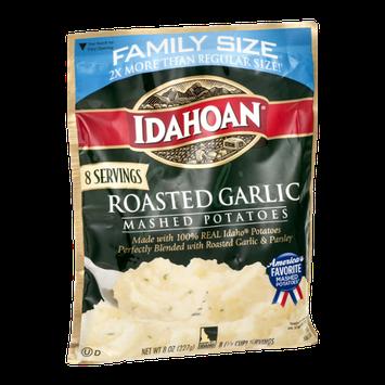 Idahoan Mashed Potatoes Roasted Garlic Family Size