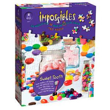 BePuzzled Impossibles Sweet Tooth Puzzle 750 Pcs Ages 12+