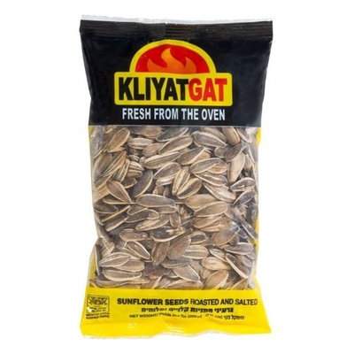 Oxygen KliyatGat Sunflower Seeds, Roasted and Salted, 7 0z (200-Grams), (Pack of 8)